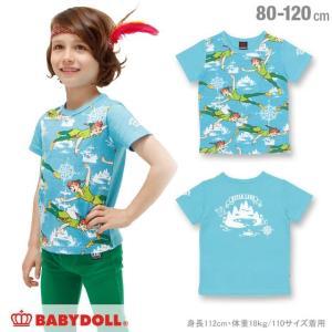 50%OFF SALE ベビードール BABYDOLL 子供服 ディズニー 総柄Tシャツ 男の子 ベビーサイズ キッズ DISNEY-0856K|babydoll-y