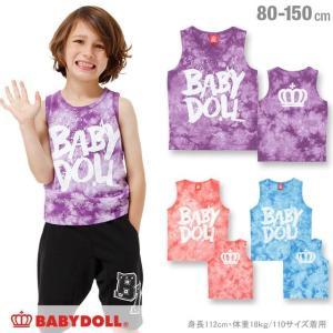 50%OFF SALE ベビードール BABYDOLL 子供服 タイダイタンクトップ 男の子 女の子 ベビーサイズ キッズ ジュニア-0871K babydoll-y