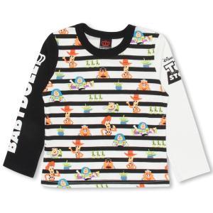 ベビードール BABYDOLL 子供服 ディズニー ボーダー ロンT 0892K ベビーサイズ キッズ 男の子 女の子 DISNEY|babydoll-y