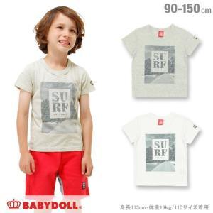 50%OFF SALE ベビードール BABYDOLL 子供服 親子ペア SURF Tシャツ 男の子 女の子 ベビーサイズ キッズ ジュニア-1095K|babydoll-y