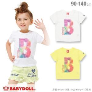50%OFF SALE ベビードール BABYDOLL 子供服 イニシャル Tシャツ 男の子 女の子 ベビーサイズ キッズ-1096K|babydoll-y