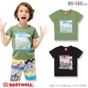50%OFF SALE ベビードール BABYDOLL 子供服 親子ペア NEWYORK Tシャツ 男の子 女の子 キッズ 1114K|babydoll-y