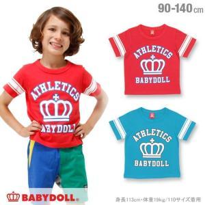 50%OFF SALE ベビードール BABYDOLL 子供服 アスレチック Tシャツ 春 夏 男の子 女の子 ベビーサイズ キッズ-1119K|babydoll-y