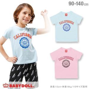 50%OFF SALE ベビードール BABYDOLL 子供服 カリフォルニア Tシャツ 春 夏 男の子 女の子 ベビーサイズ キッズ-1121K|babydoll-y