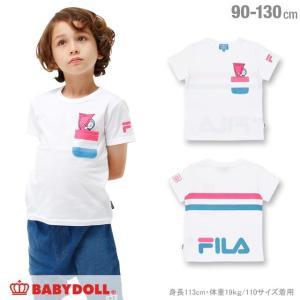 30%OFF SALE ベビードール BABYDOLL 子供服 ドラえもん FILA Tシャツ 男の子 女の子 ベビーサイズ キッズ-1207K|babydoll-y