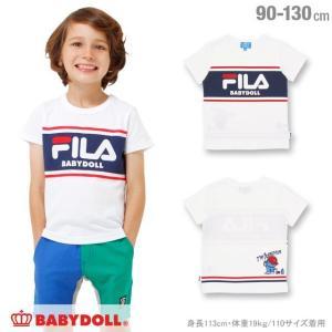30%OFF SALE ベビードール BABYDOLL 子供服 ドラえもん FILA Tシャツ 男の子 女の子 ベビーサイズ キッズ-1208K|babydoll-y