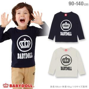50%OFF SALE ベビードール BABYDOLL 子供服 サークル ロゴ ロンT 1230K ベビーサイズ キッズ 男の子 女の子|babydoll-y
