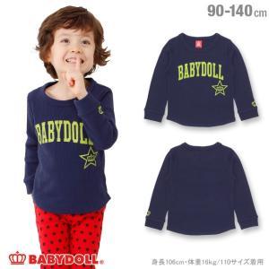 50%OFF SALE ベビードール BABYDOLL 子供服 スター 王冠 ロンT 1233K ベビーサイズ キッズ 男の子 女の子|babydoll-y
