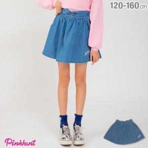 30%OFF SALE ベビードール BABYDOLL 子供服 PINKHUNT PH レースアップ フレア スカート 1832K キッズ ジュニア 女の子|babydoll-y