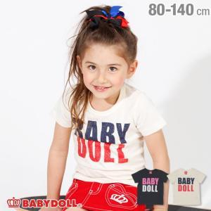 7/22まで50%OFFからさらに20%OFF!SALE ベビードール BABYDOLL 子供服 王冠ロゴ Tシャツ 2044K キッズ 男の子 女の子|babydoll-y