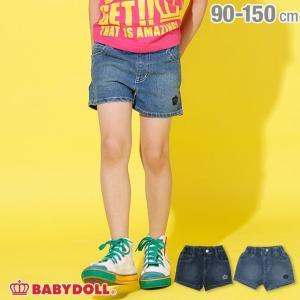 30%OFF SALE ベビードール BABYDOLL 子供服 デニム ショートパンツ 2117K ベビーサイズ キッズ 男の子 女の子|babydoll-y
