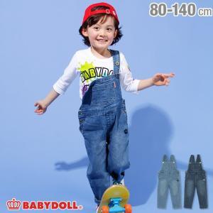 30%OFF SALE ベビードール BABYDOLL 子供服 デニム サロペット 2118K ベビーサイズ キッズ 男の子 女の子|babydoll-y
