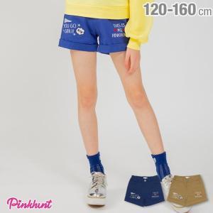 50%OFF SALE ベビードール BABYDOLL 子供服 PINKHUNT PH メッセージ 刺繍 ショートパンツ 2195K キッズ ジュニア 女の子|babydoll-y