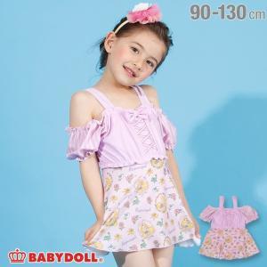 30%OFF SALE ベビードール BABYDOLL 子供服 ディズニー 水着 キャラクター 総柄 ワンピース 2197K キッズ 女の子 DISNEY|babydoll-y