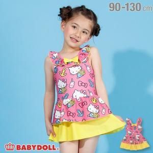 ベビードール BABYDOLL 子供服 サンリオ 水着 リボン付き ワンピース 2209K キッズ 女の子|babydoll-y
