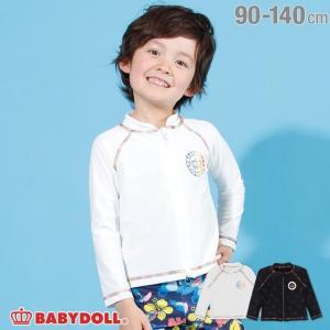 30%OFF SALE ベビードール BABYDOLL 子供服 水着 レインボー ラッシュガード 2212K キッズ 男の子 女の子|babydoll-y