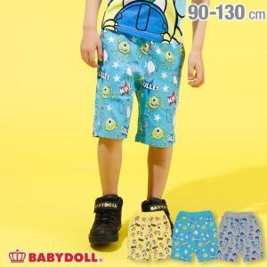 30%OFF SALE ベビードール BABYDOLL 子供服 ディズニー 総柄 ハーフパンツ 2229K ベビーサイズ キッズ 男の子 女の子 DISNEY|babydoll-y
