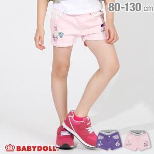 ベビードール BABYDOLL 子供服 ディズニー モチーフ カラー ショートパンツ 2231K キッズ 女の子 DISNEY 30s|babydoll-y