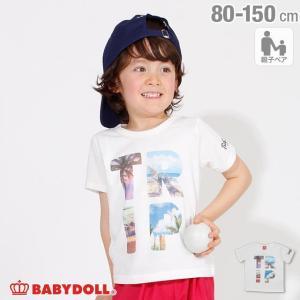 7/22まで50%OFFからさらに20%OFF!SALE ベビードール BABYDOLL 子供服 親子お揃い TRIPフォト Tシャツ 2273K キッズ 男の子 女の子|babydoll-y