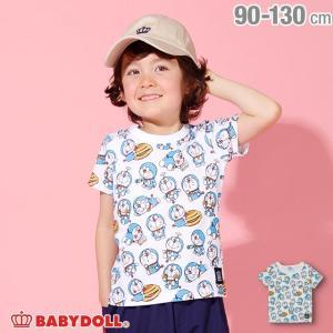 ベビードール BABYDOLL 子供服 ドラえもん キャラクター 総柄 Tシャツ 2287K ベビーサイズ キッズ 男の子 女の子 babydoll-y