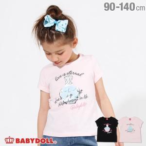 30%OFF SALE ベビードール BABYDOLL 子供服 香水モチーフ Tシャツ 2474K キッズ 女の子|babydoll-y