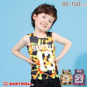 30%OFF SALE ベビードール BABYDOLL 子供服 ナンバリング タンクトップ 2476K ベビーサイズ キッズ 男の子 女の子|babydoll-y