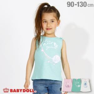 30%OFF SALE ベビードール BABYDOLL 子供服 ディズニー チュニック タンクトップ 2480K キッズ 女の子 DISNEY|babydoll-y