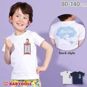 50%OFF SALE ベビードール BABYDOLL 子供服 ディズニー キャラクター ポケット Tシャツ 2485K キッズ 男の子 女の子 DISNEY|babydoll-y