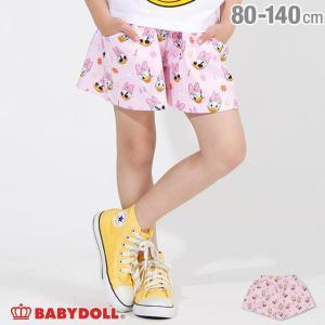 30%OFF SALE ベビードール BABYDOLL 子供服 ディズニー 総柄 ショートパンツ 2522K キッズ女の子 DISNEY|babydoll-y