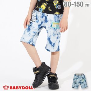 30%OFF SALE ベビードール BABYDOLL 子供服 ワッペン デニム ハーフパンツ 2546K キッズ 男の子 女の子|babydoll-y
