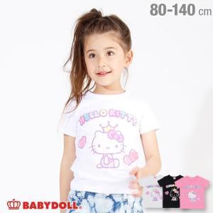 50%OFF SALE ベビードール BABYDOLL 子供服 サンリオ アニバーサリー Tシャツ 2570K キッズ 女の子|babydoll-y