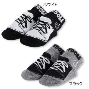 ベビードール BABYDOLL 子供服 シューズ風 ベビーソックス 2771 雑貨 ベビーサイズ 男...