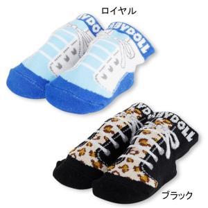 ベビードール BABYDOLL 子供服 シューズ風 ベビーソックス 2772 雑貨 ベビーサイズ 男...