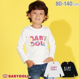 ベビードール BABYDOLL 子供服 ペイント ロンT 2898K キッズ 男の子 女の子|babydoll-y