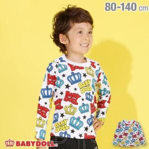 ベビードール BABYDOLL 子供服 カラフル 総柄 ロンT 2948K キッズ 男の子 女の子|babydoll-y