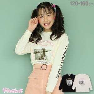 ベビードール BABYDOLL 子供服 PINKHUNT PH 転写プリント ロンT 3071K キッズ ジュニア 女の子|babydoll-y