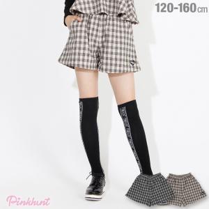 ベビードール BABYDOLL 子供服 PINKHUNT PH チェック キュロット ショートパンツ 3073K (トップス別売) キッズ ジュニア 女の子|babydoll-y