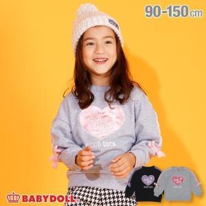 ベビードール BABYDOLL 子供服 袖 リボン トレーナー 3273K キッズ 男の子 女の子|babydoll-y