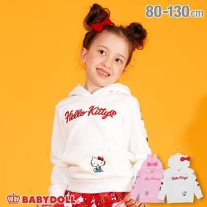 ベビードール BABYDOLL 子供服 サンリオ キャラクター 刺繍 パーカー 3288K キッズ 男の子 女の子|babydoll-y