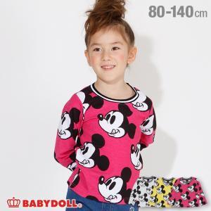ベビードール BABYDOLL 子供服 ディズニー 総柄 ロンT 3291K キッズ 男の子 女の子 DISNEY|babydoll-y