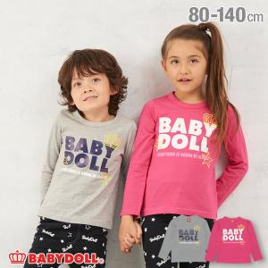 50%OFF SALE ベビードール BABYDOLL 子供服 ロンT ロゴ 3378K キッズ 男の子 女の子|babydoll-y