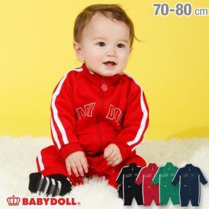 ベビードール BABYDOLL 子供服 ライン ロンパース 3641B 男の子 女の子|babydoll-y