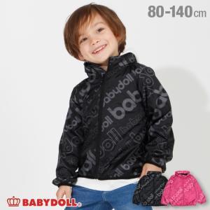 50%OFF SALE ベビードール BABYDOLL 子供服 ロゴ 総柄 ウィンドブレーカー 3664K キッズ 男の子 女の子|babydoll-y