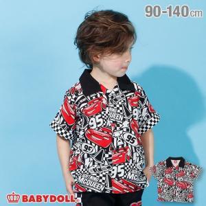 30%OFF SALE ベビードール BABYDOLL 子供服 ディズニー シャツ 総柄 半袖 3751K (ボトム別売) キッズ 男の子 DISNEY|babydoll-y