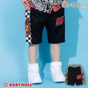 30%OFF SALE ベビードール BABYDOLL 子供服 ディズニー ハーフパンツ チェッカー 切替 3753K (トップス別売) キッズ 男の子 DISNEY|babydoll-y
