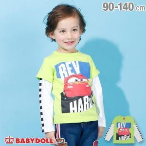 50%OFF SALE ベビードール BABYDOLL 子供服 ディズニー ロンT レイヤード 3848K キッズ 男の子 女の子 DISNEY|babydoll-y