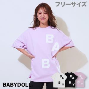 ベビードール BABYDOLL 子供服 BIGシルエット Tシャツ 3900A 大人 レディース|babydoll-y