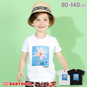50%OFF SALE ベビードール BABYDOLL 子供服 Tシャツ エンボス 王冠 3925K キッズ 男の子 女の子|babydoll-y