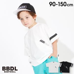 30%OFF SALE ベビードール BABYDOLL 子供服 BBDL Tシャツ  リフレクターライン 3973K キッズ ジュニア 男の子 女の子|babydoll-y