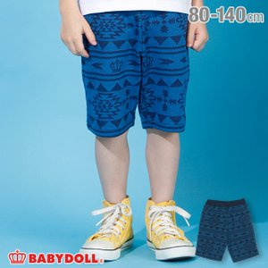 50%OFF SALE ベビードール BABYDOLL 子供服 ハーフパンツ オルテガ柄 ジャガード 4071K キッズ 男の子 女の子|babydoll-y